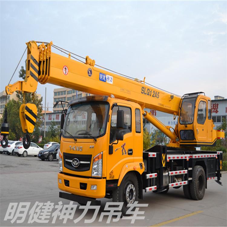 唐骏金刚王170明健神力12吨吊车