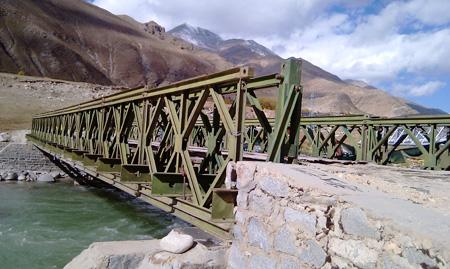 321型跨江河貝雷橋