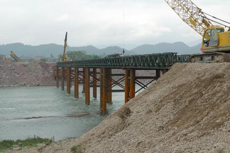 加強321型貝雷橋