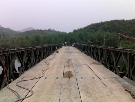 三排單層加強321型貝雷橋