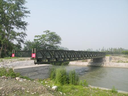 上承式321型貝雷橋