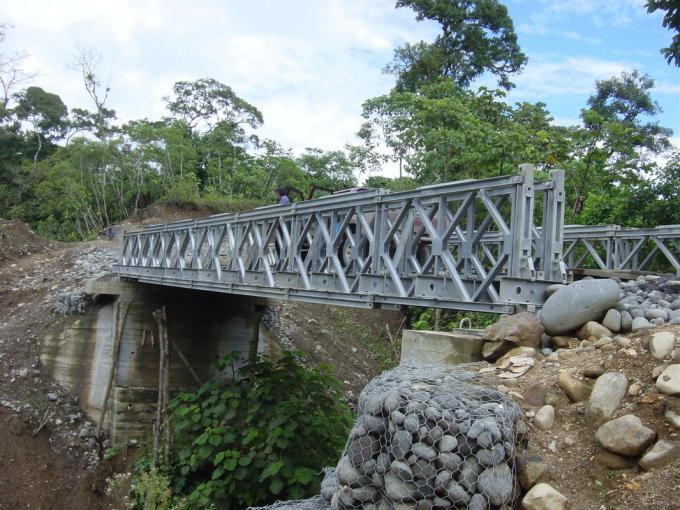 贝雷架钢便桥施工工程案例