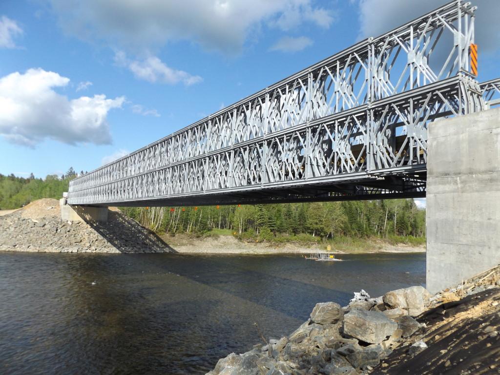 貝雷梁棧橋