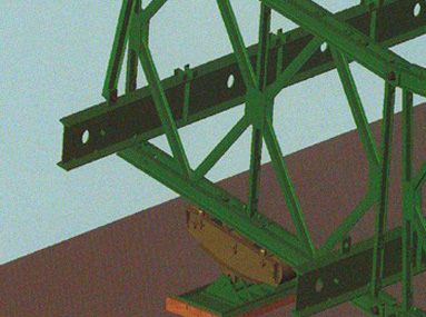 321型貝雷片橋