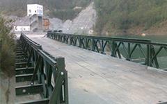上承式贝雷梁钢便桥的设计方案