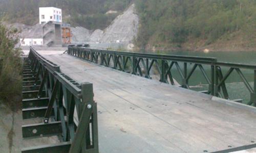 【钢构知识】装配式钢桥--贝雷桥 详细介绍