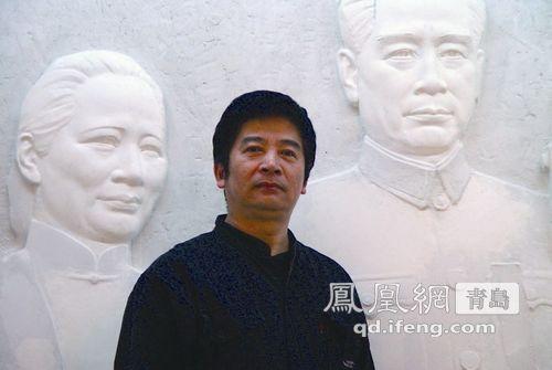 青岛雕塑园2014中外雕塑名家作品展参展者:王洪亮
