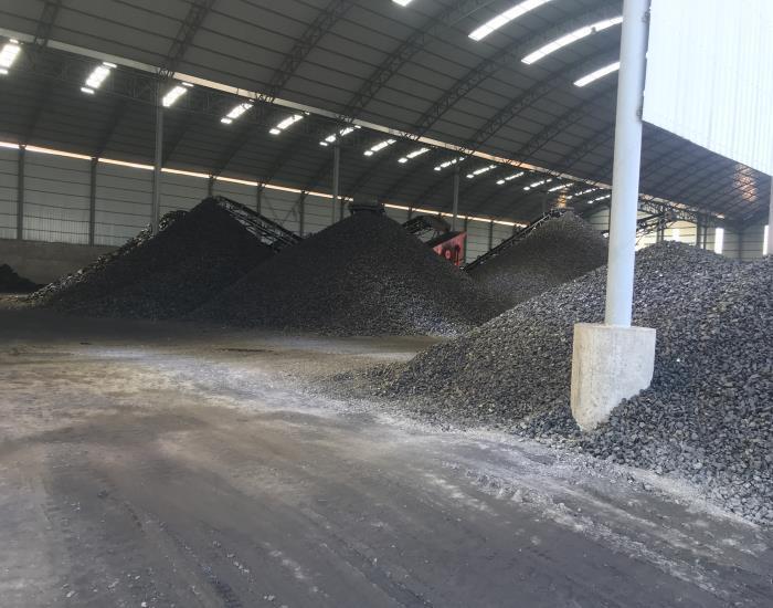 新型储煤大棚
