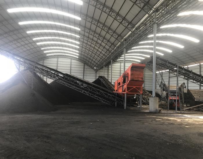 煤粉筛选车间