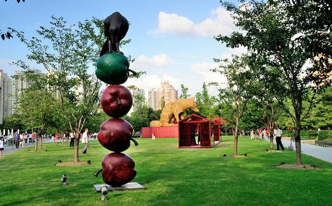 公园创意雕塑