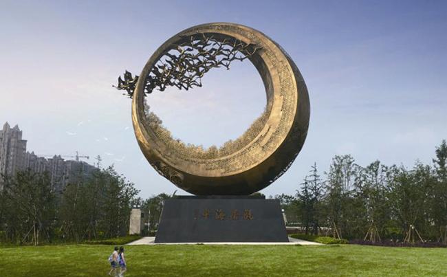 现代公共雕塑