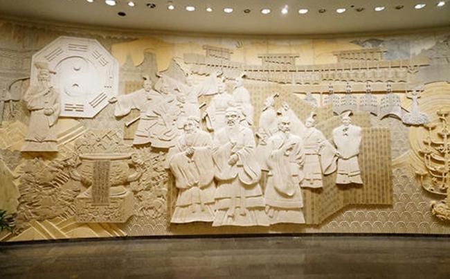 校园文化浮雕墙