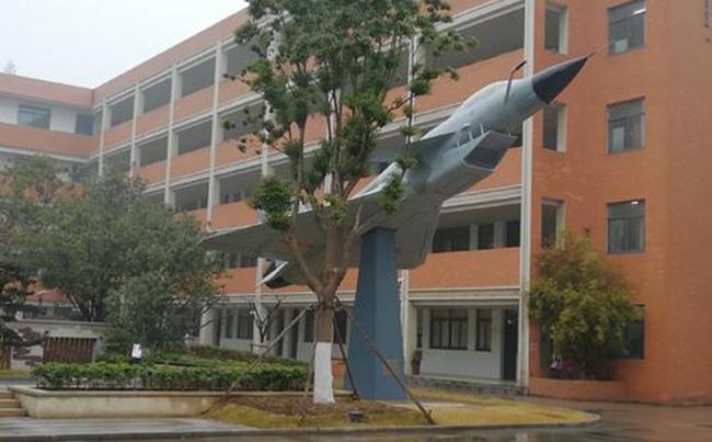飞机模型雕塑