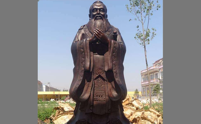 校园名人雕塑