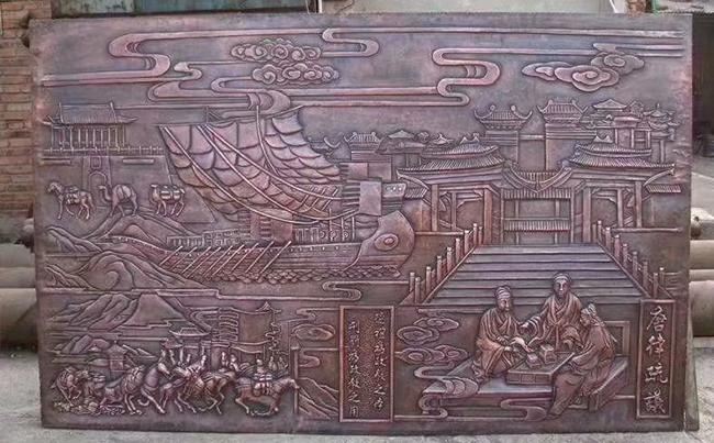 厦门铜浮雕的制作工艺介绍