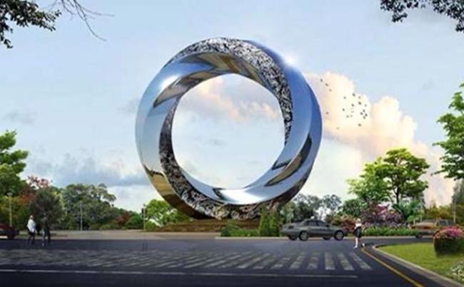 校园不锈钢雕塑是校园文化的载体