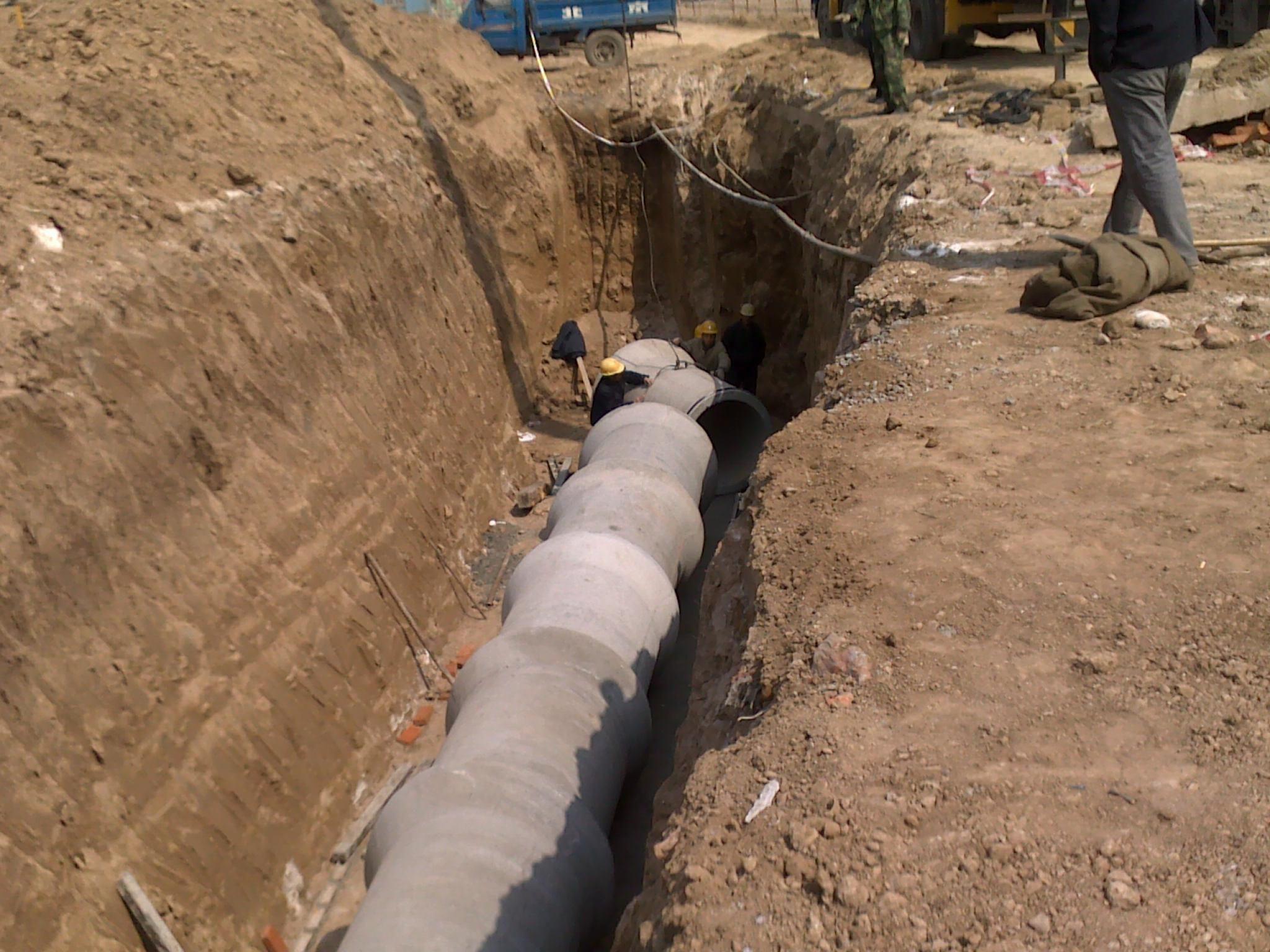 水泥管施工案例