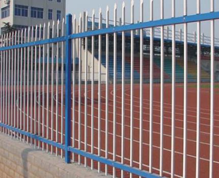 学校操场锌钢护栏