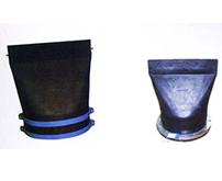 XH镶嵌式、法兰式橡胶止回阀鸭嘴阀