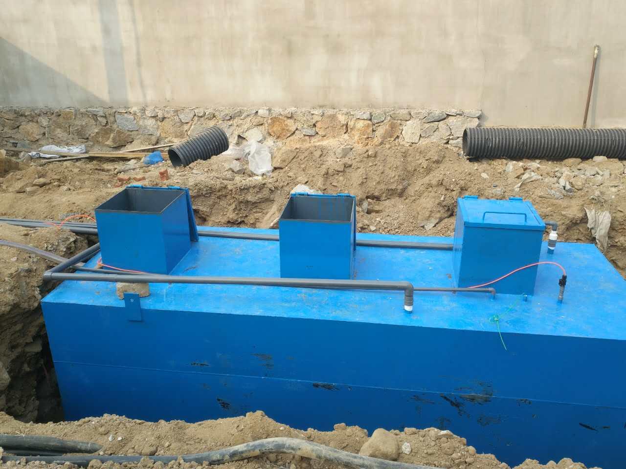 简单介绍环保食品加工污水处理设备的设备安装条件