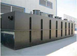 地埋式一体化污水处理设备污水处理小知识