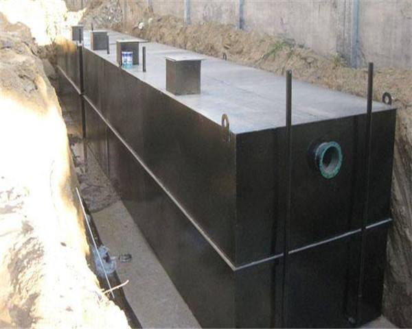 生活污水一体化处理设备是一种处理效果理想且管理方便的设备