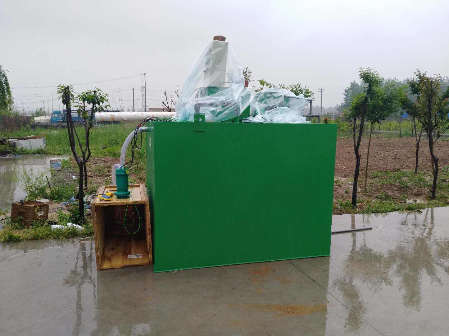 生活污水一体化处理设备