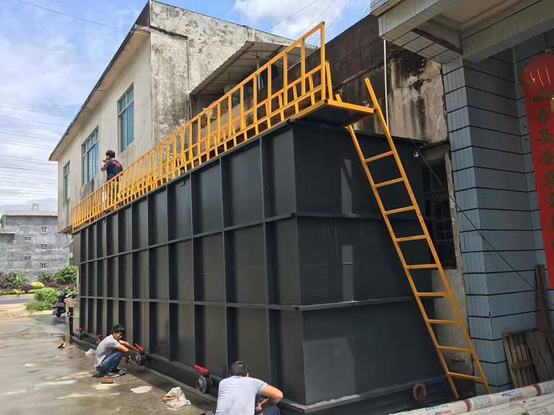 讲讲地埋式一体化污水处理设备对医院污水处理的应用
