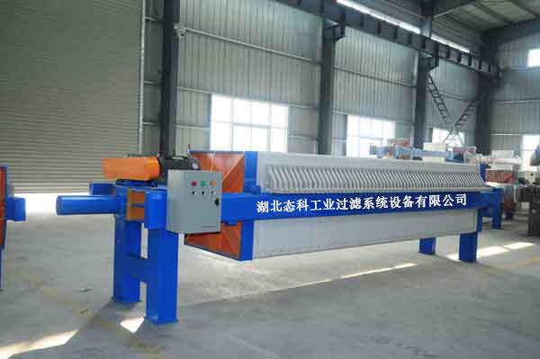 机械压紧板框压滤机