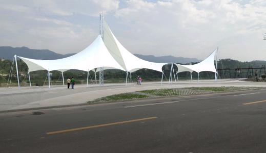 泰州景观膜结构