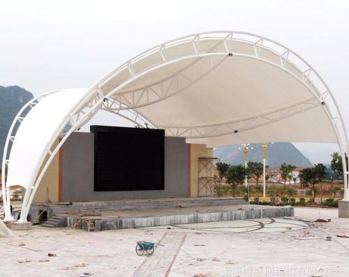 泰州膜结构遮阳棚
