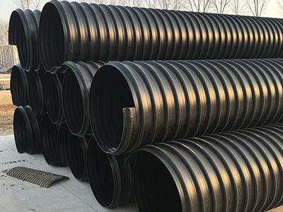 HDPE钢带增强螺旋波纹管