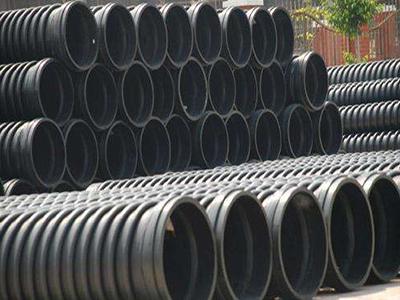 HDPE塑钢环绕纠缠排水管