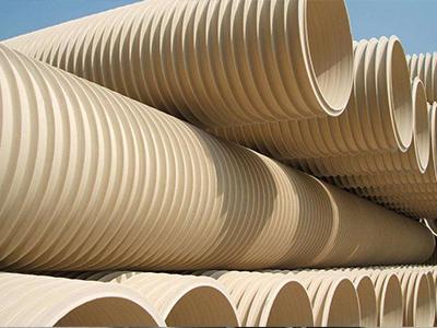 PVC-U单壁波纹管