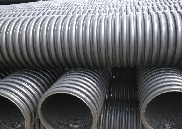 FRPP钢带加强加筋管