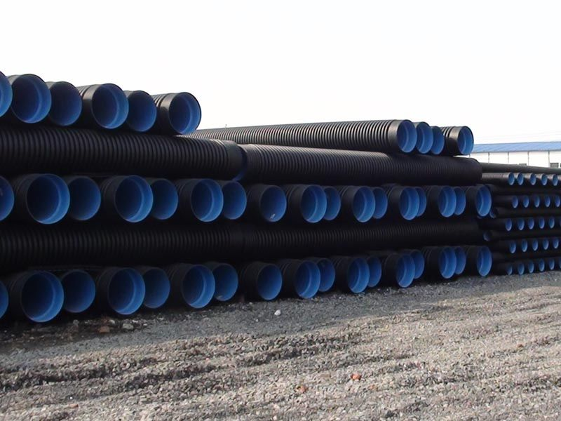 贵州HDPE钢带增强螺旋波纹管