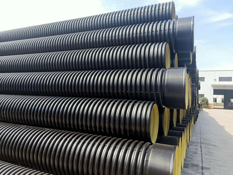 HDPE双壁波纹管厂
