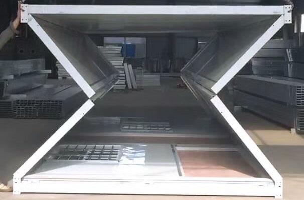 温江住人集装箱出租公司教集装箱安装流程