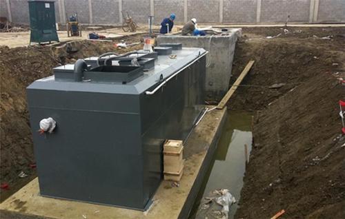 养老院地埋式污水处理设备