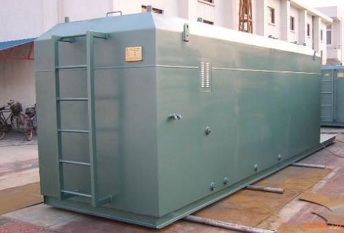一体化污水处理设备的技术支持以及适用范围