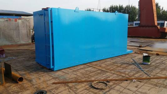 医院污水处理设备安装施工对环境的要求