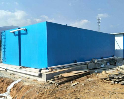 关于一体化污水处理设备处理水的结构和原理