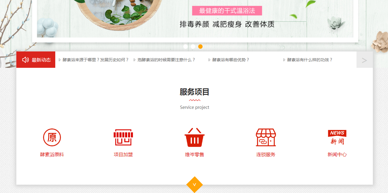 """泉州网络建设首选公司_关键词""""酵素浴加盟""""上线首页"""