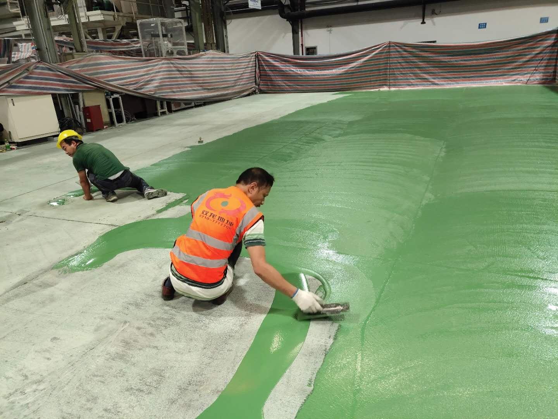 施工完成后怎样维护好襄阳停车场地坪漆地面