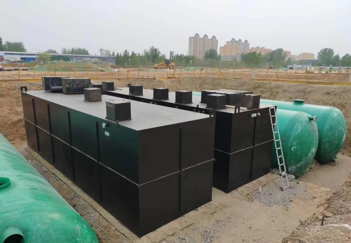大型城市污水处理器设备