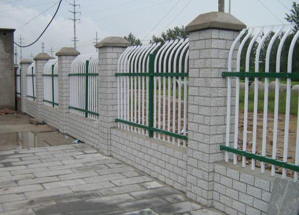 围墙锌钢栏杆