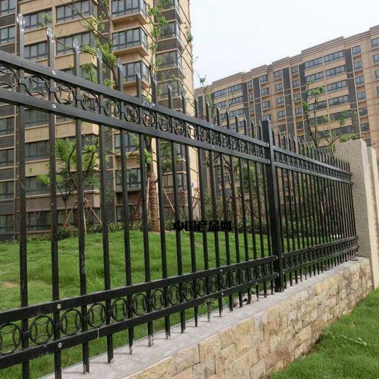 围墙铁栏杆