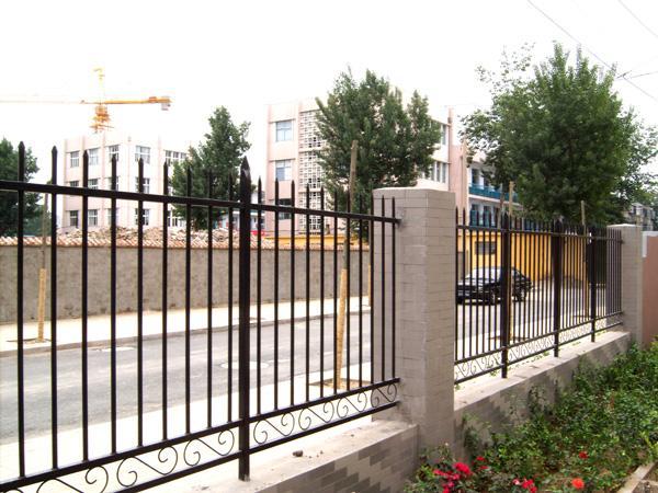 锌钢围墙护栏栏杆