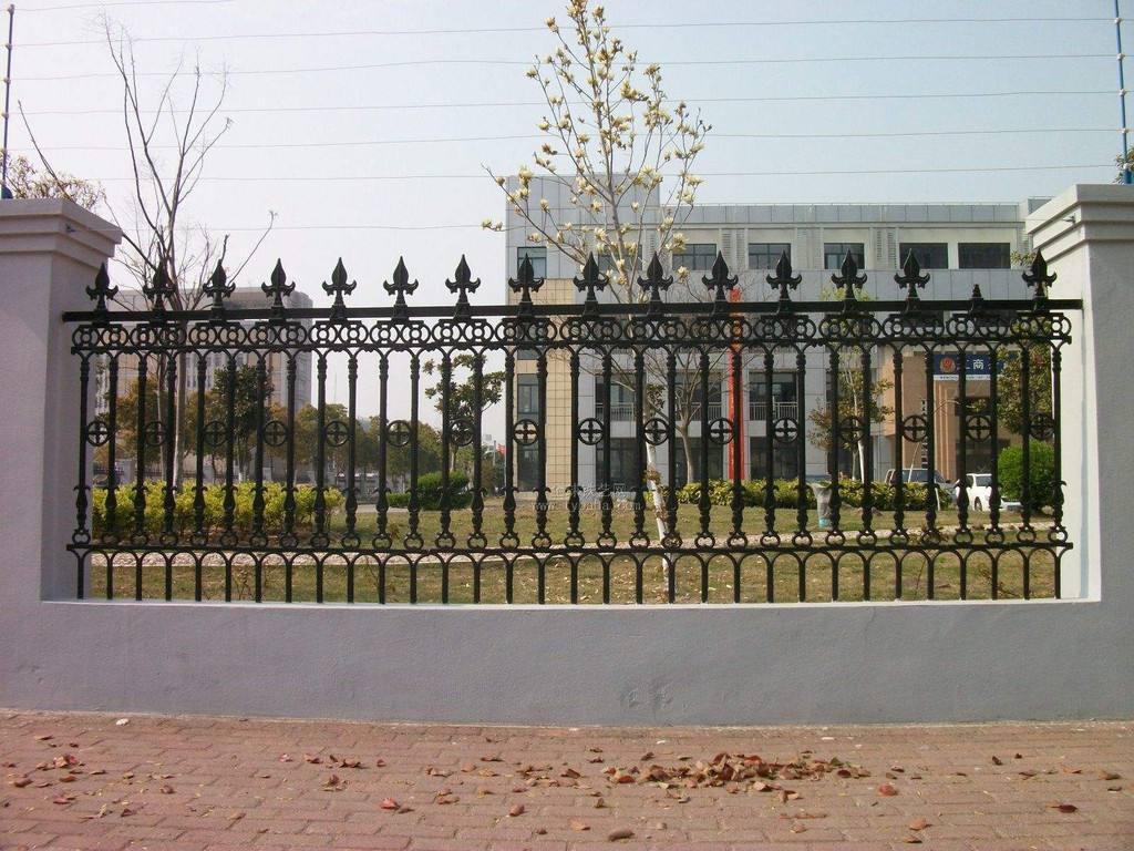 围墙栏杆工艺怎么样安装