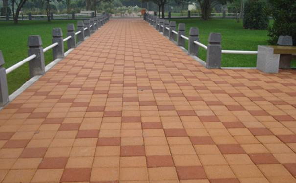 人行道透水磚